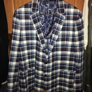 Plaid Nautica Blazer